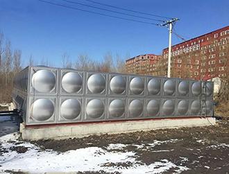水箱、不锈钢现场